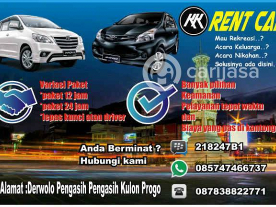 KK Rent Car Jogja